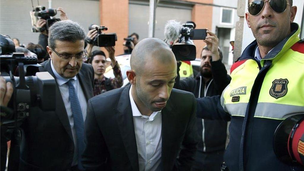 Mascherano admite ante el juez un fraude de más de 1,5 millones a Hacienda