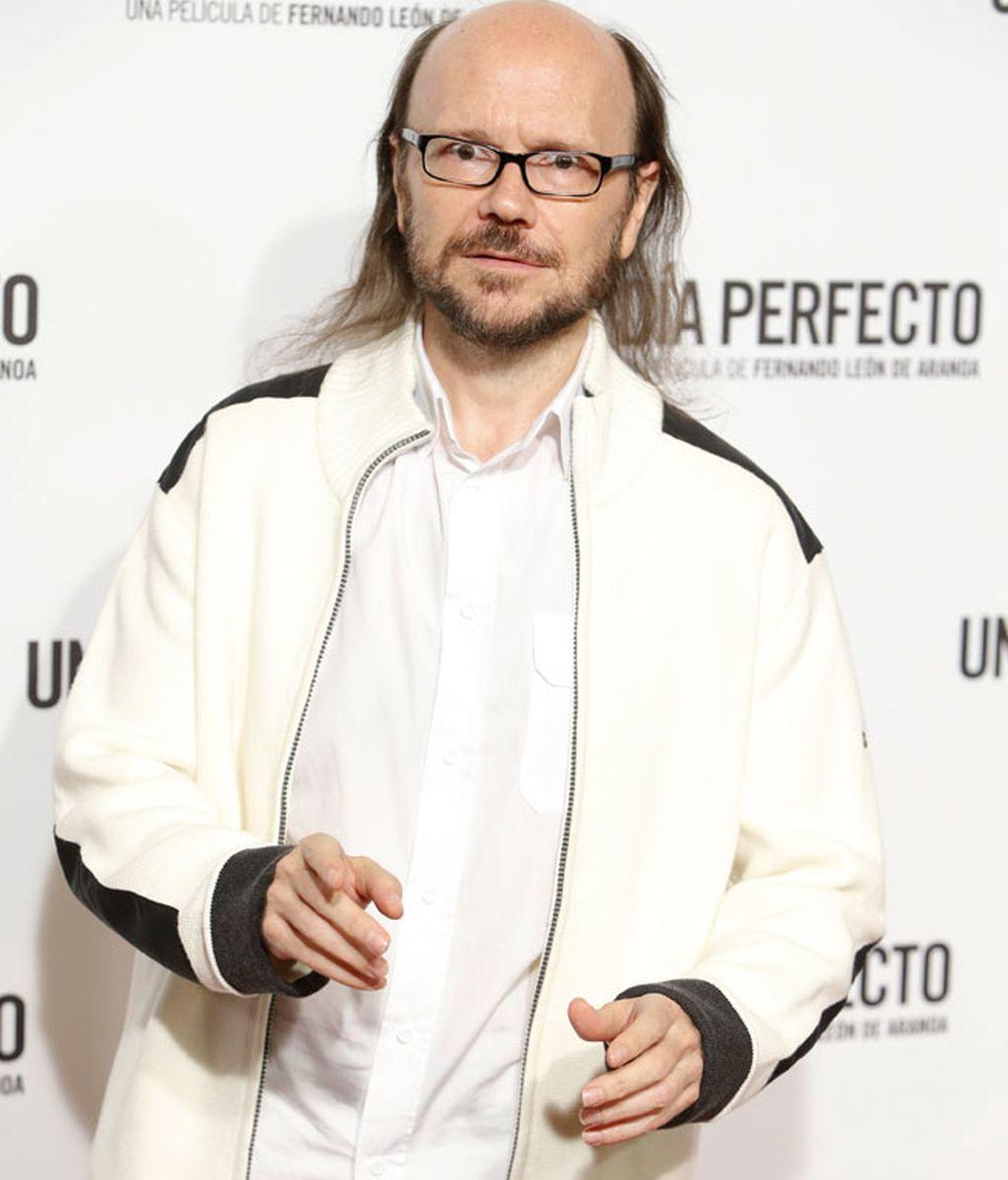 Santiago Segura eligió el color blanco