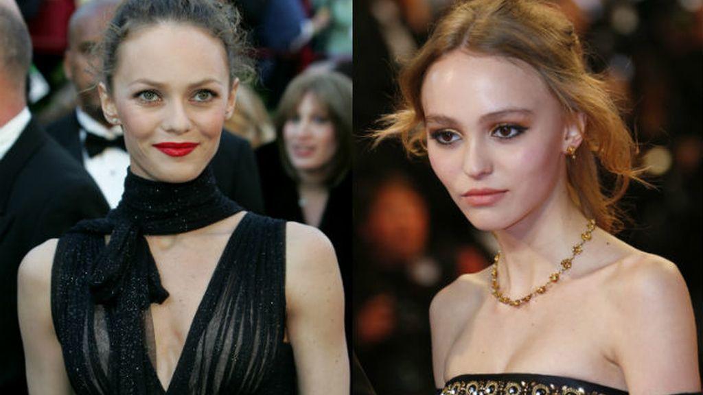 Vanesa Paradis y Lili Rose Depp
