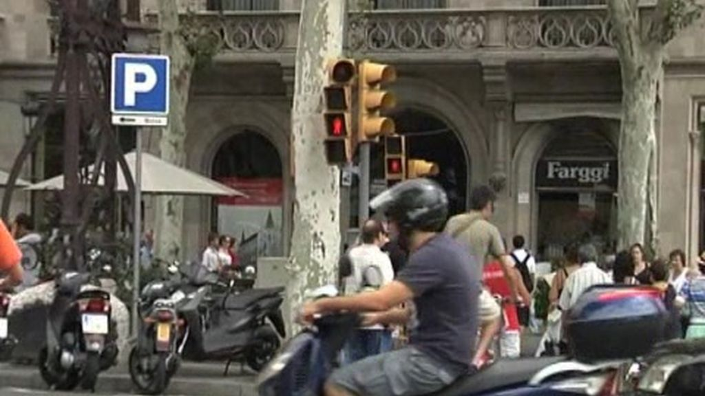 Ciclistas de Barcelona