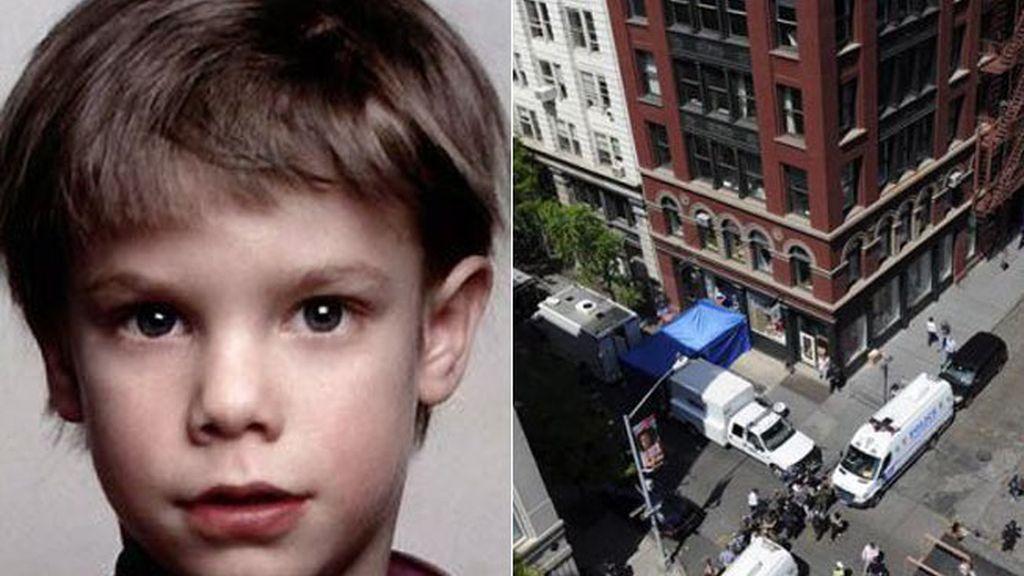 La Policía de Nueva York y el FBI investigan en la calle Prince Street en el SoHo neoyorkino. Foto: EFE