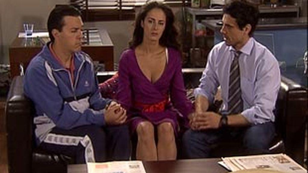 Caye, Nacho y Diego