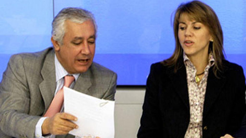 Arenas desautoriza a Cospedal y asegura que el PP no tomará medidas contra Yebra