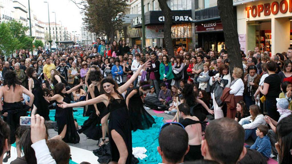 Teatro en las calles de Madrid