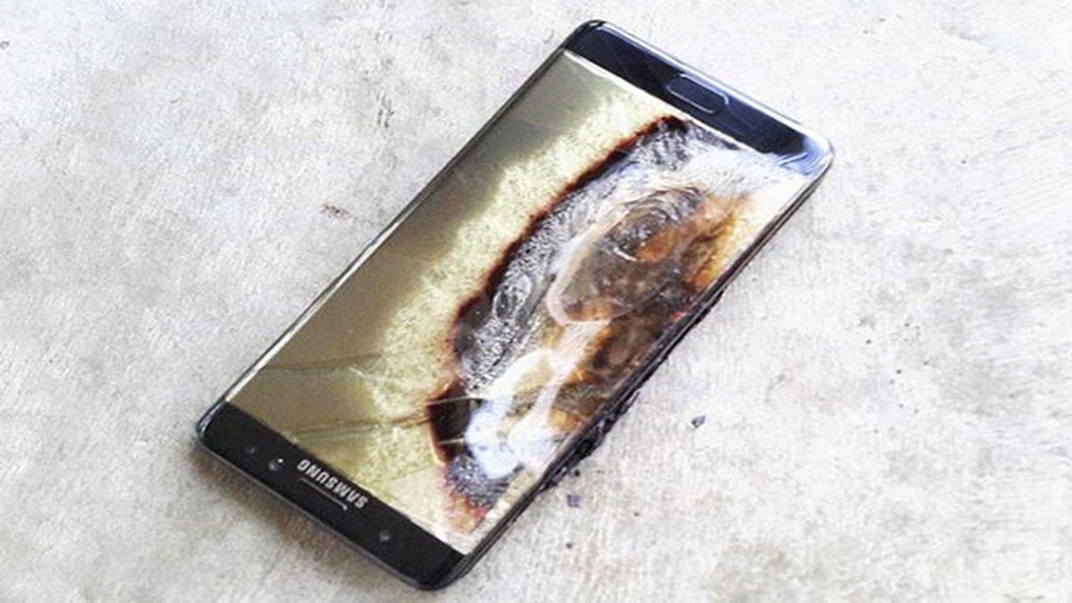 Explosión Galaxy Note 7