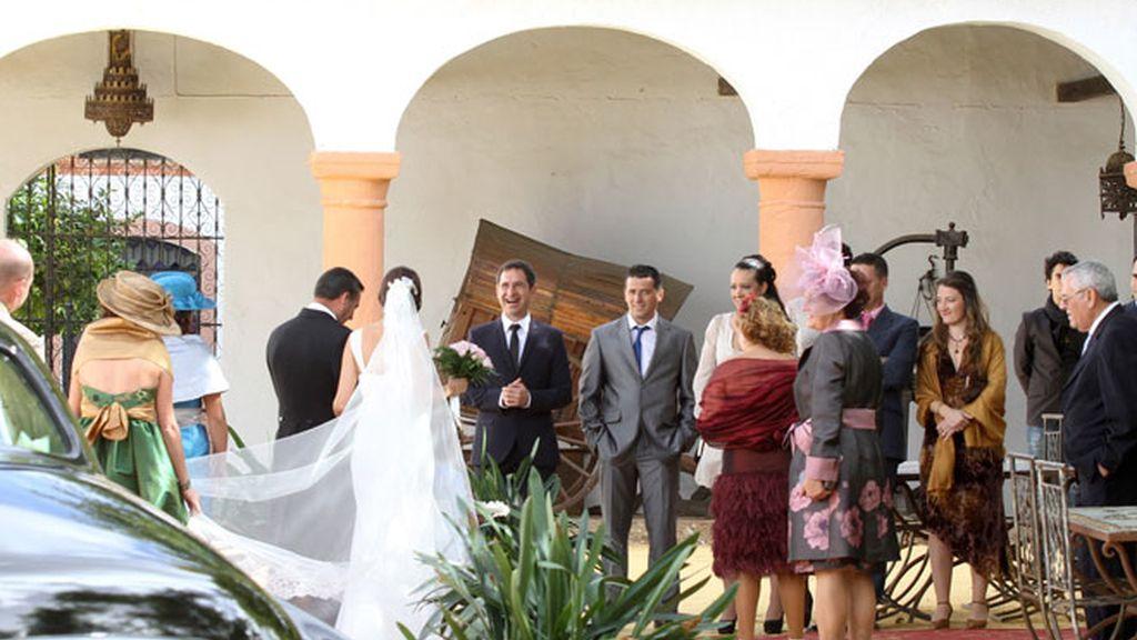 La boda por lo discreto de Morante
