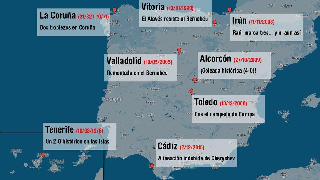mapa real madrid