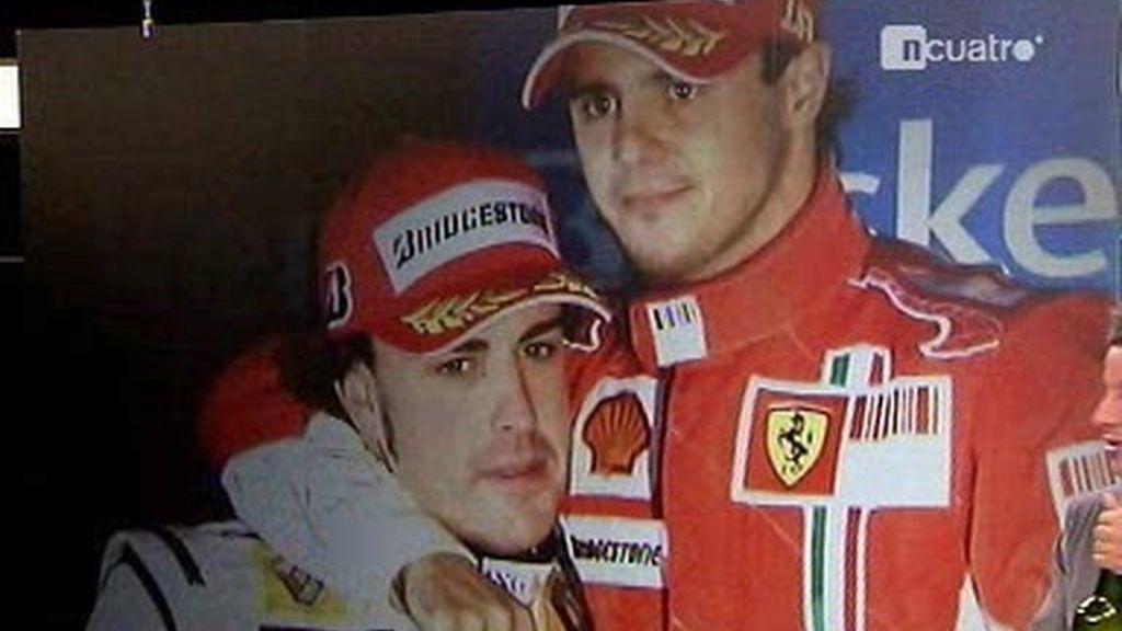 ¡Un brindis por Alonso!