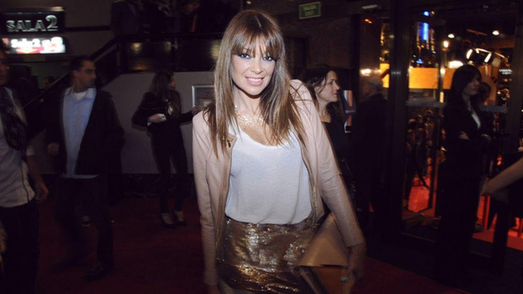 Lucía Hoyos acudió con un total look de Bdba