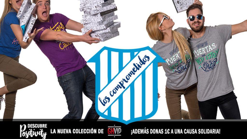 Positivity: Camisetas Gran Hermano VIP, causa solidaria, Los Comprometidos