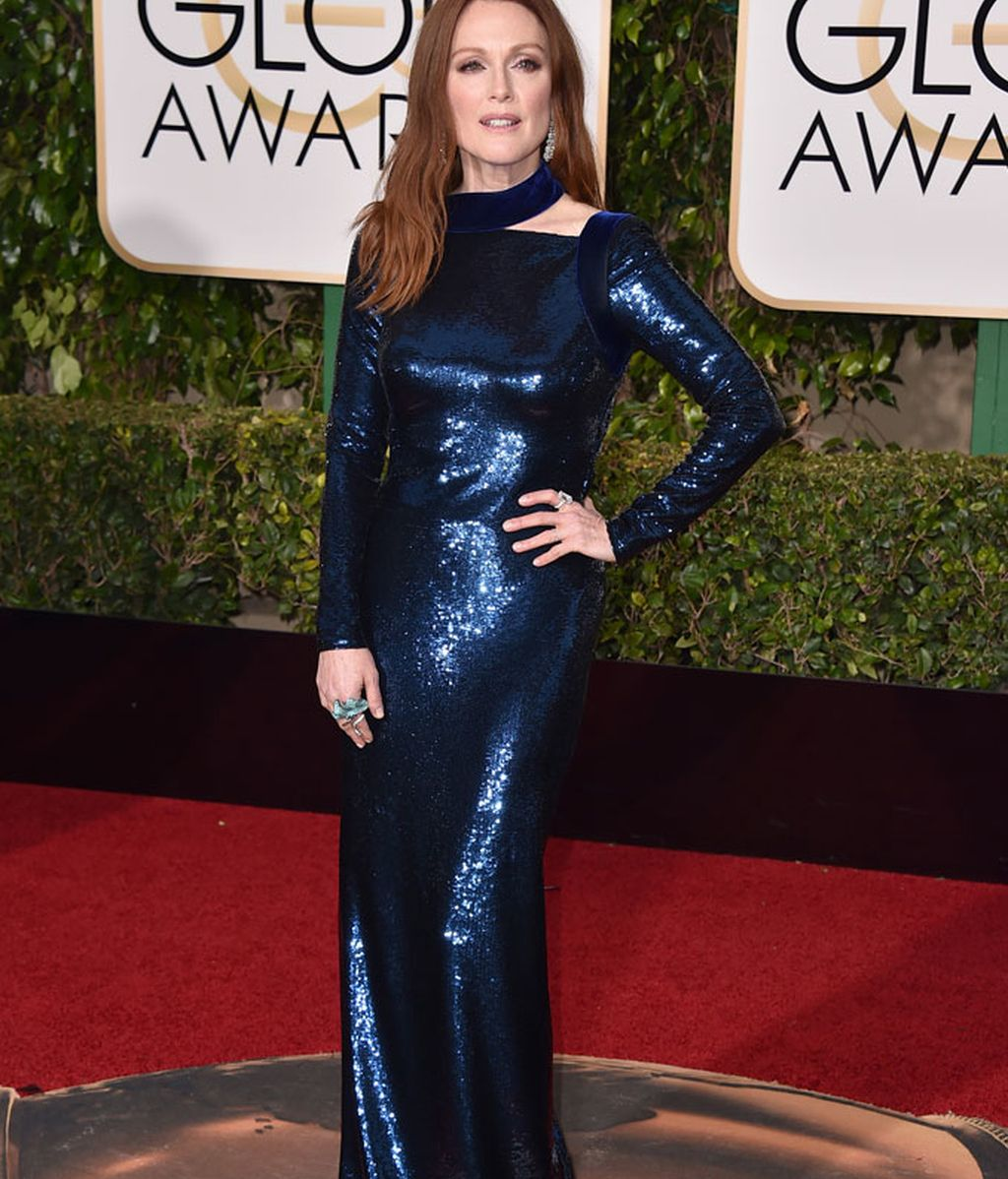 Julianne Moore vestida de Tom Ford