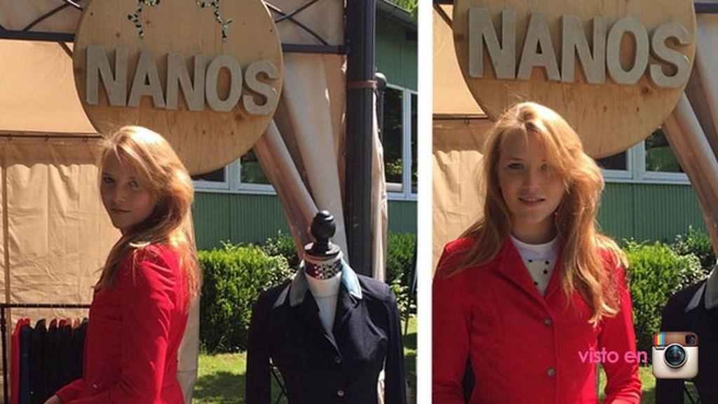 Con sólo 20 años, es directora de una marca de ropa para hípica, 'Nanos'
