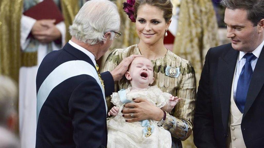 Suecia se viste de gala por el bautizo del príncipe Nicolás