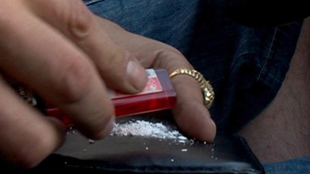 El consumo de drogas es muy elevado