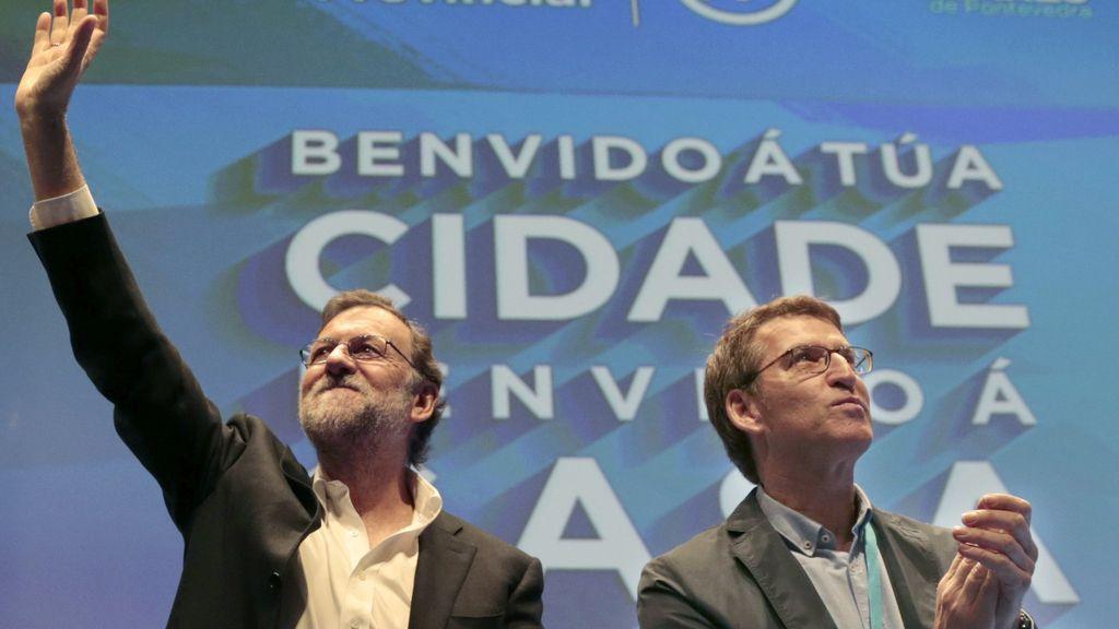 Núñez Feijóo y Mariano Rajoy