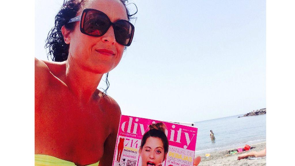La foto de Elisa Isabel (Almería) para el concurso 'Envíanos tu selfie con la Revista Divinity'