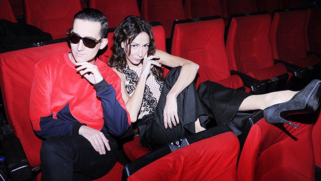 Pocas cosas tan glamurosas como un estreno de cine, sobre todo al lado de Elisa Matilla