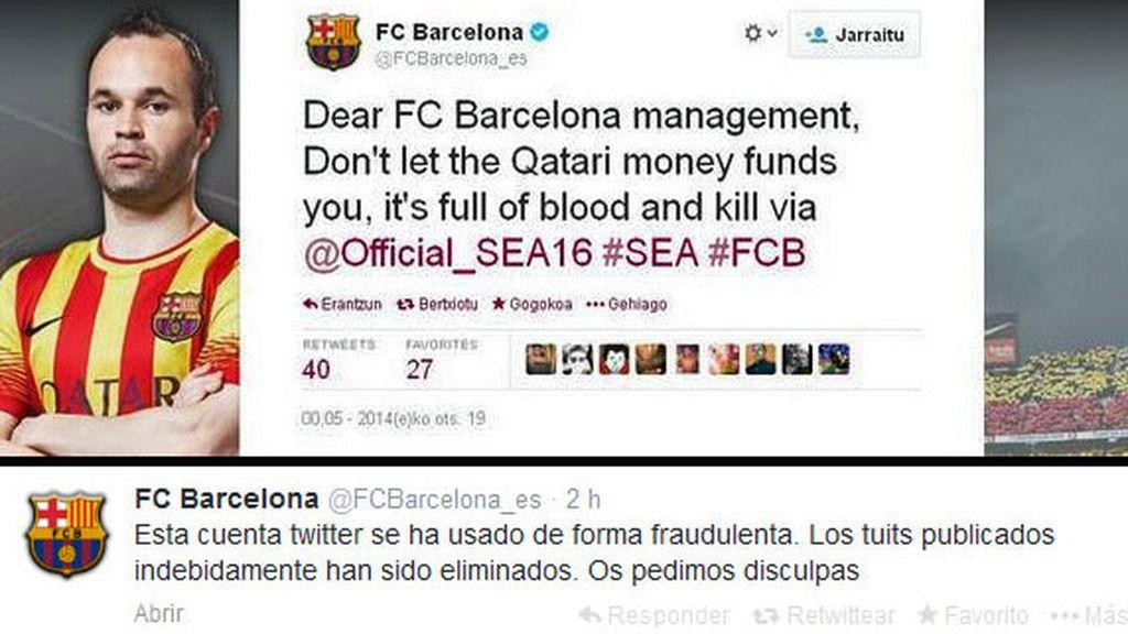 Barcelona, twitter