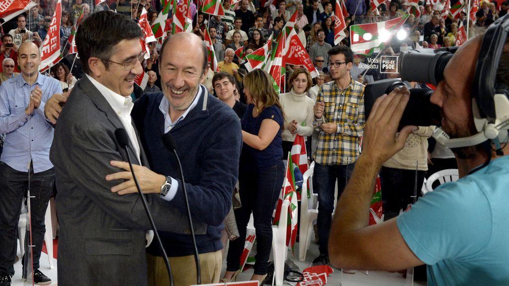 Rubalcaba advierte de que Rajoy no va a actualizar las pensiones