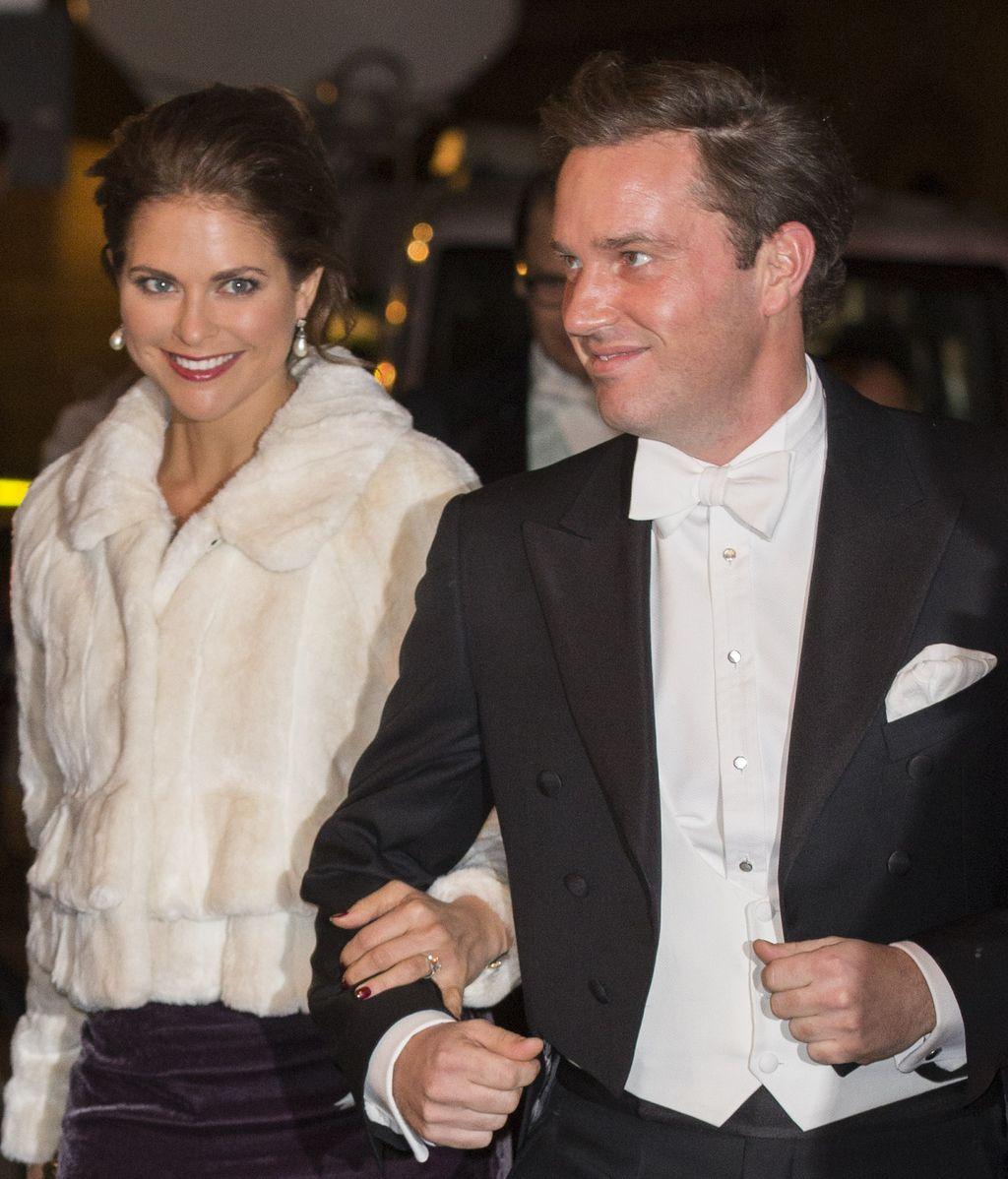 Christopher O'Neill y Magdalena de Suecia