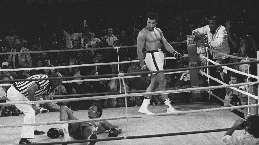 Muhammad Ali,George Foreman,Boxeo