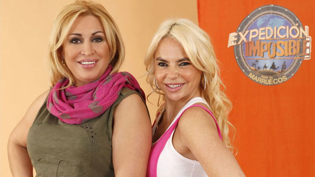 Raquel Mosquera y Leticia Sabater (EQUIPO FUCSIA)