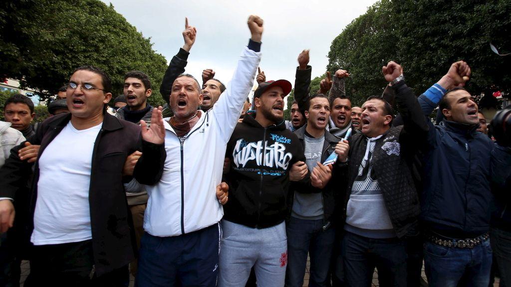 Al menos 423 detenidos durante las jornadas de protestas laborales en Túnez