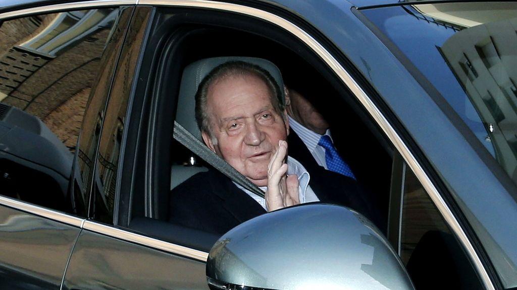 Don Juan Carlos llega a La Milagrosa