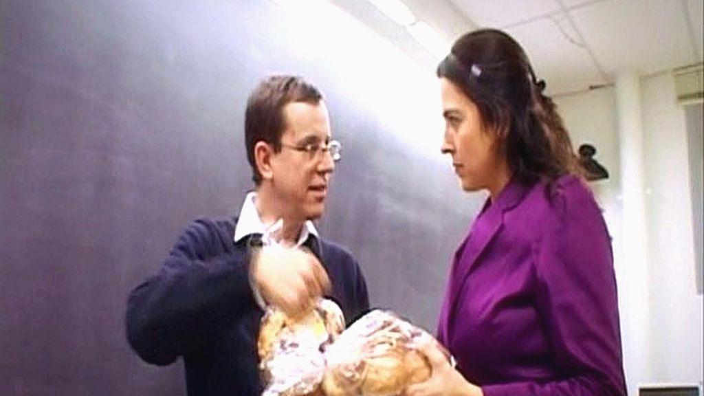 Comentando la pirámide de los alimentos con el doctor Jordi Salas-Salvadó