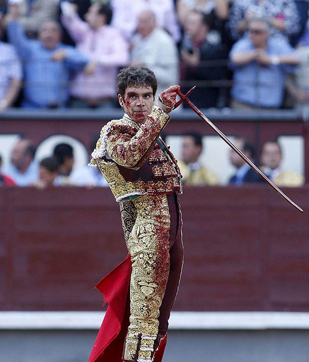 José Tomás, cogido en Las Ventas