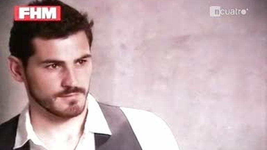 Iker Casillas, modelo de FHM