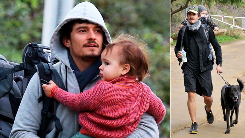 Orlando Bloom y el 'hijo-koala'