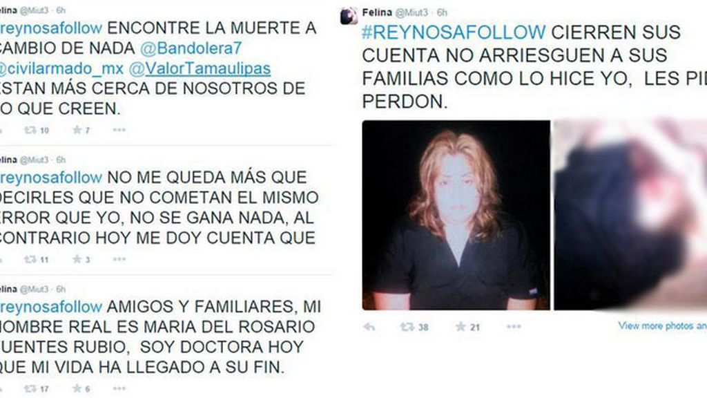 Asesinan a una mujer que había denunciado los cárteles de las drogas en Twitter