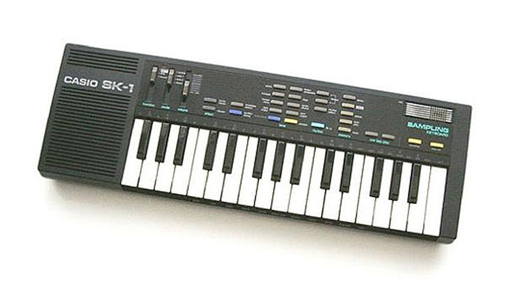 1986: 'Casio SK1 Sampler Keyboard'