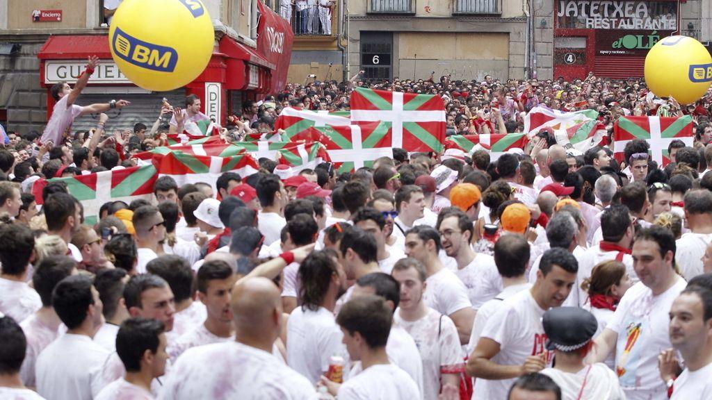 Pamplona vive sus fiestas hasta el 14 de julio