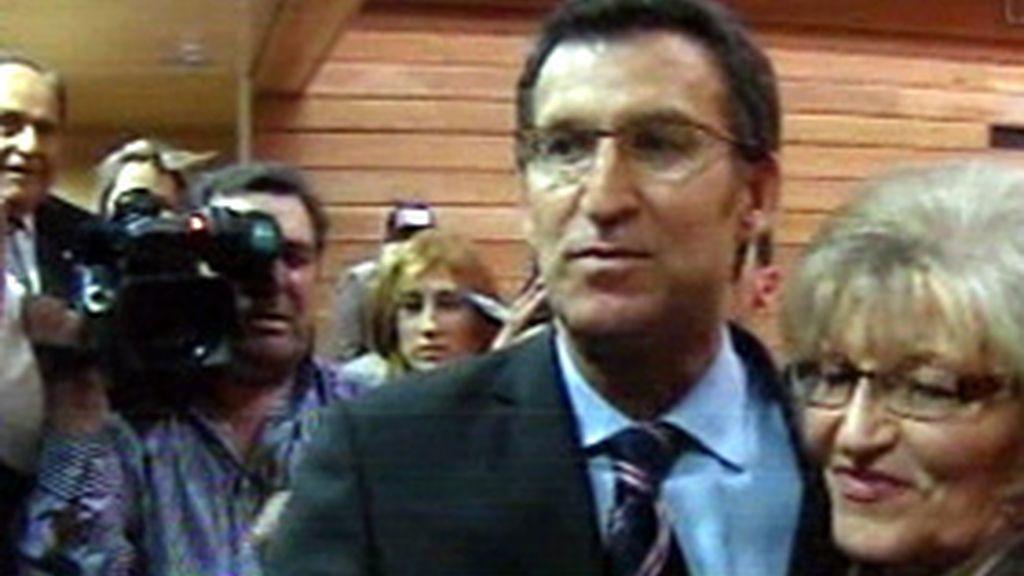 Alberto Núñez Feijóo, nuevo presidente de la Xunta de Galicia