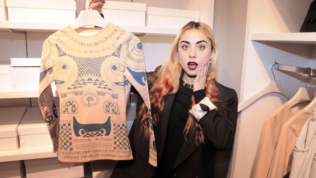 Miranda Makaroff se compró su prenda favorita de la colección