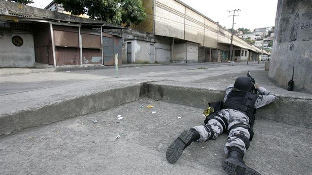 Indignación por la muerte de un niño en una favela de Río de Janeiro