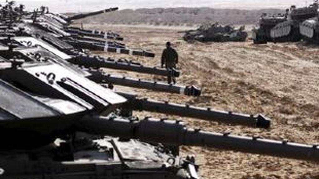 Hamás ataca la localidad israelí de Sderot. Video: Atlas