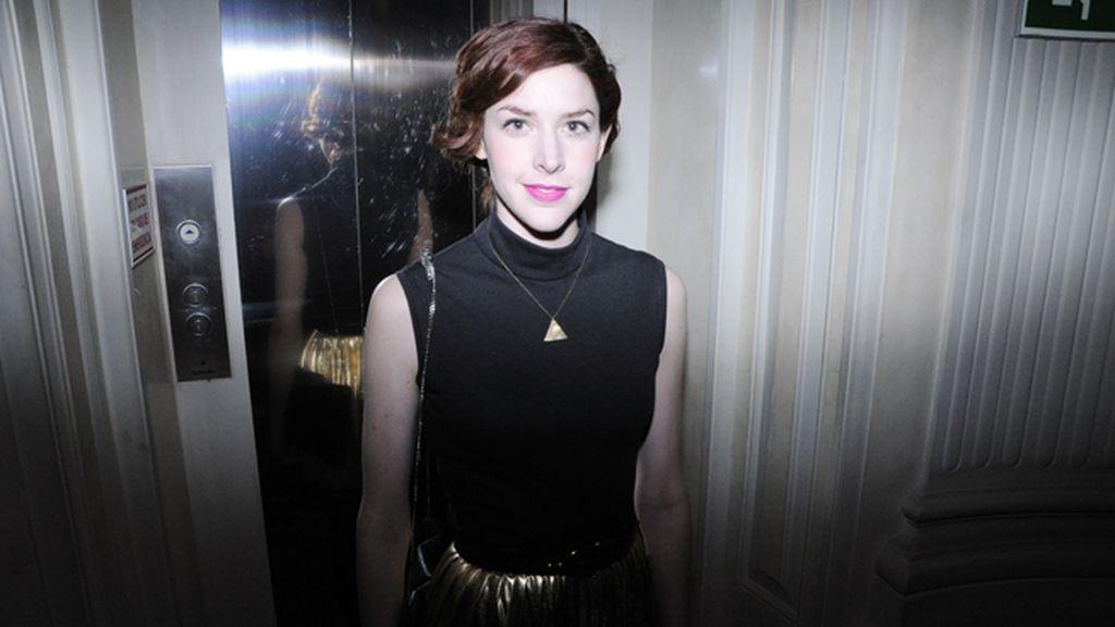 La diseñadora Brianda Fitz-James elegió un vestido de su propia firma para la fiesta en el Santo Mauro