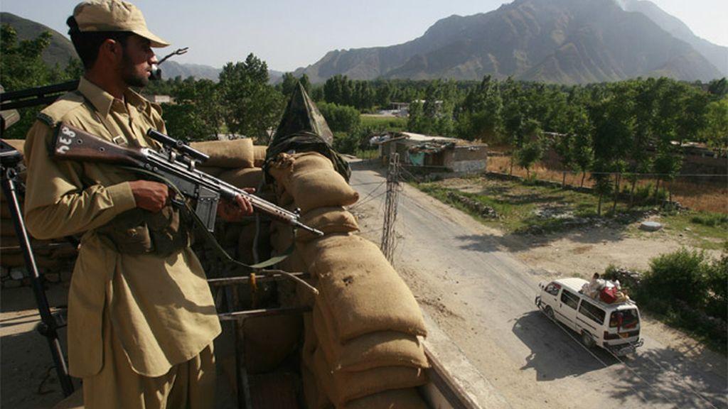 El Ejército en el valle de Swat