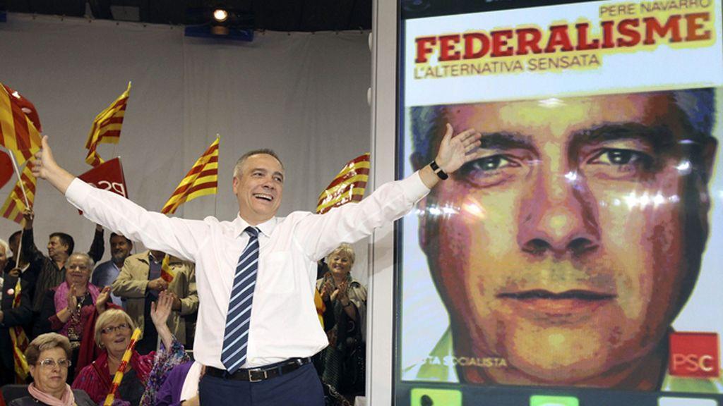 Pere Navarro, candidato del PSC a la Generalitat