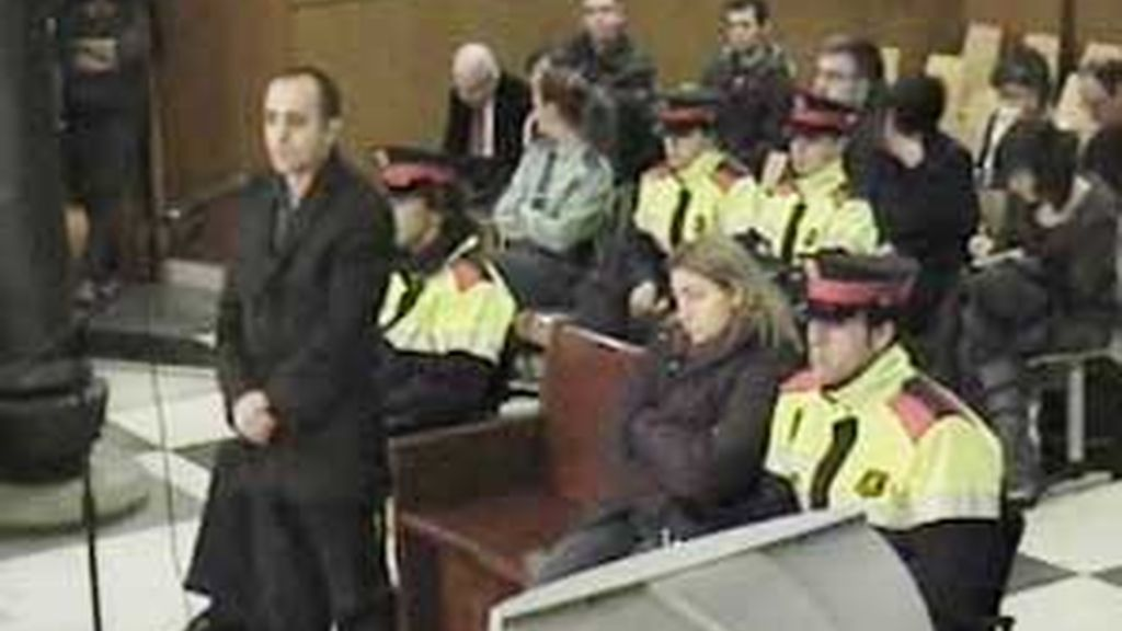 Los acusados durante el juicio. Vídeo: ATLAS