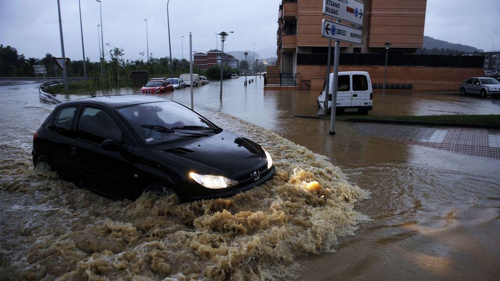 Lluvias en Navarra