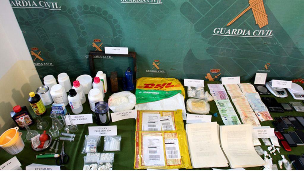 Desarticulado una red internacional de narcotráfico a gran escala