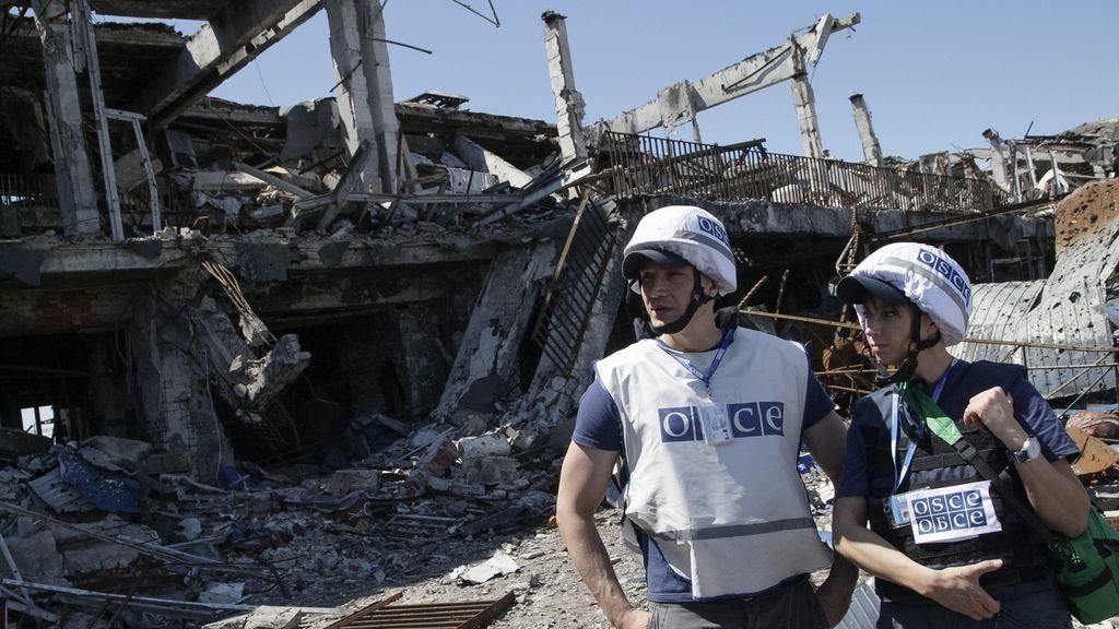 La OSCE detecta violaciones del alto el fuego por parte del Ejército ucraniano