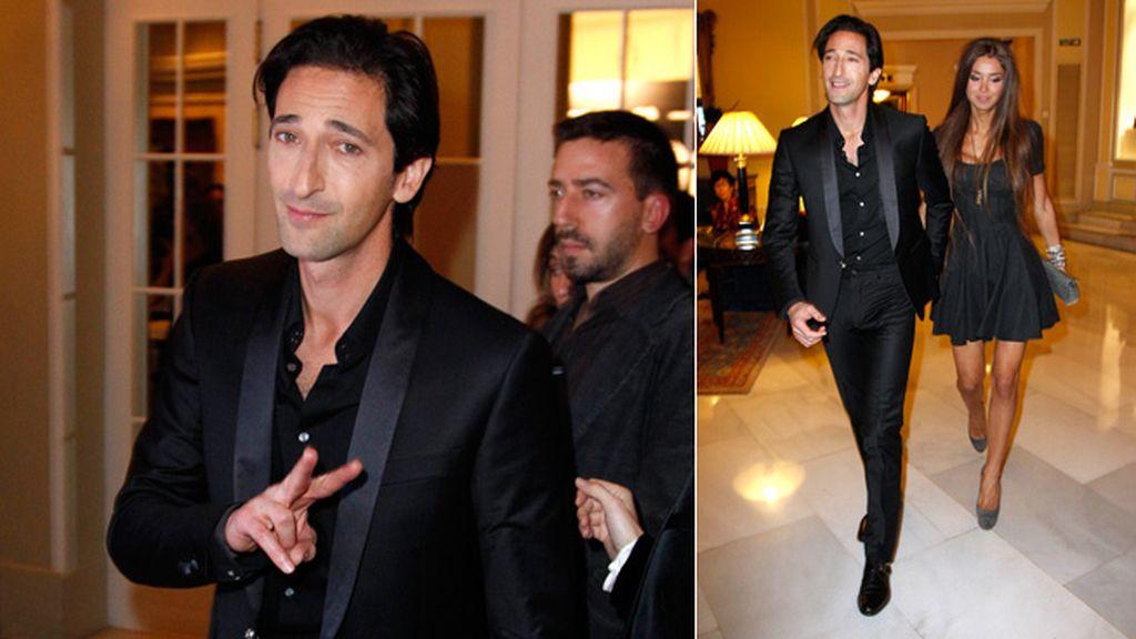 Adrien recibió el premio GQ al Mejor actor internacional
