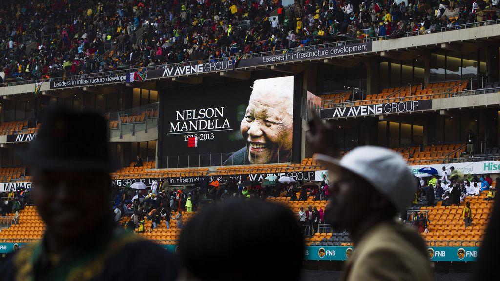 Funeral por Nelson Mandela