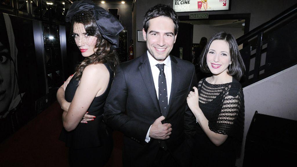 Elia Galera, Alejandro Tous y Ruth Núñez