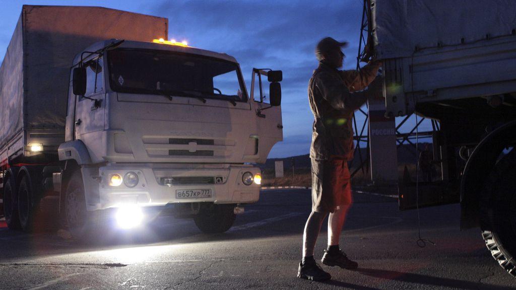 Segundo convoy humanitario
